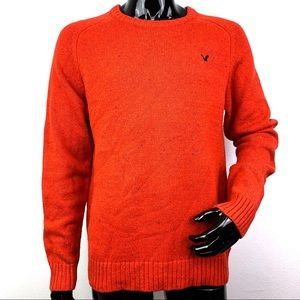 American Eagle men's red sweater NWOT